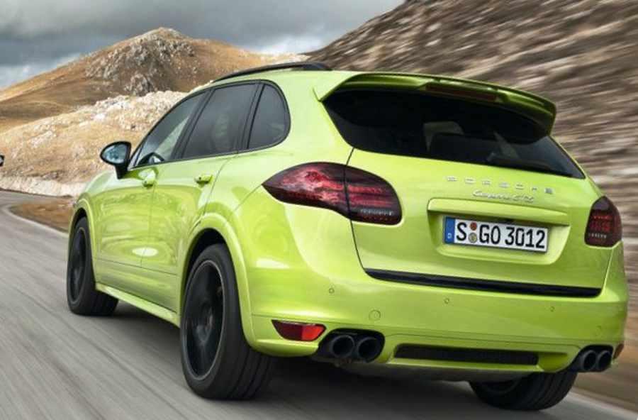 Задние фонари нового Porsche Cayenne GTS 2013