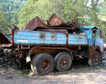 Запрет старых грузовиков