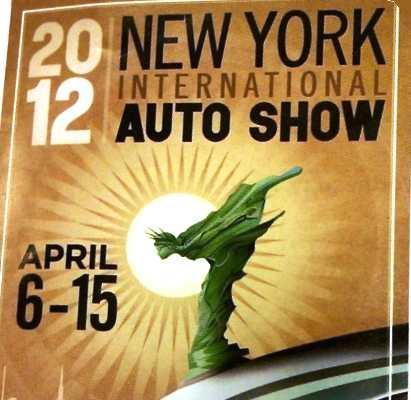 новинки Нью-Йоркского автосалона 2012