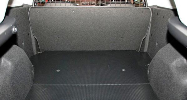 Багажное отделение Fiat New Punto Van