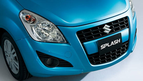 Бампер Suzuki Splash 2013
