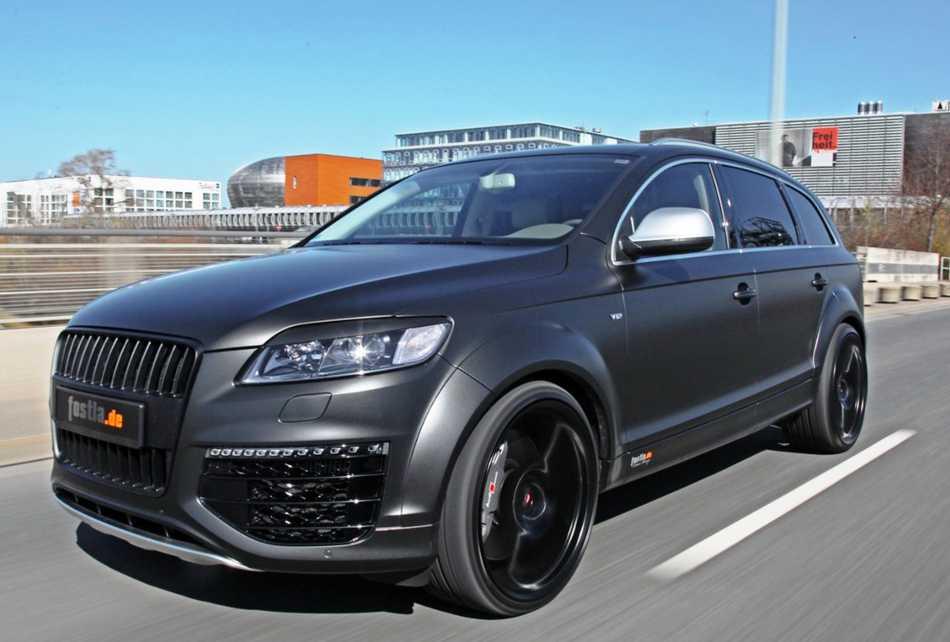 Диски для Audi Q7 - тюнинг 2012