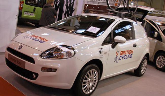 Fiat New Punto Van 2012