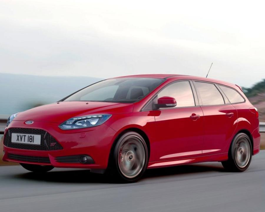 Ford Focus 3 ST 2013 фото