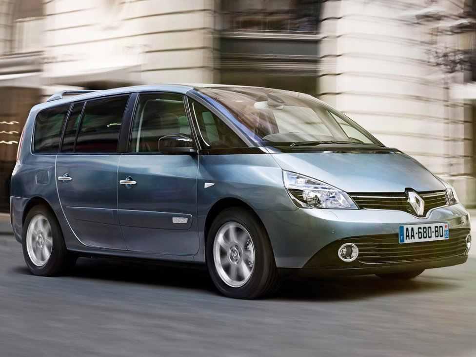 Фото сбоку Renault Espace 2013