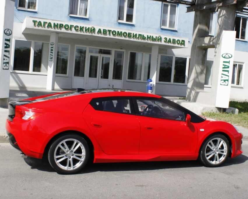 Фото сбоку ТагАЗ PS511