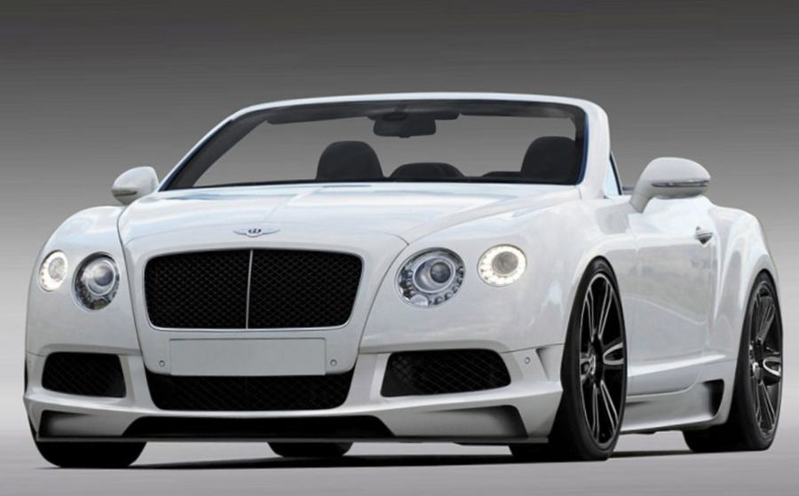 Фото тюнингованного Bentley Continental GTC