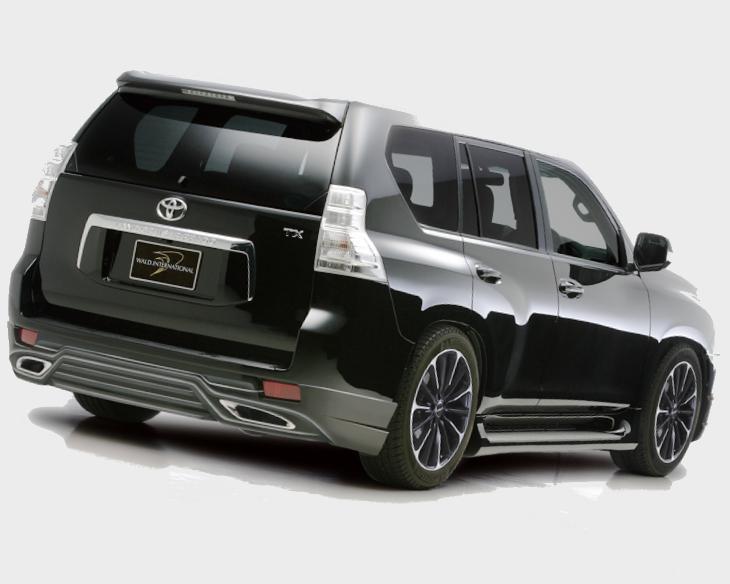 Фото тюнингованного Toyota Land Cruiser Prado в кузове 150