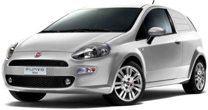 Фургон Fiat New Punto Van 2012
