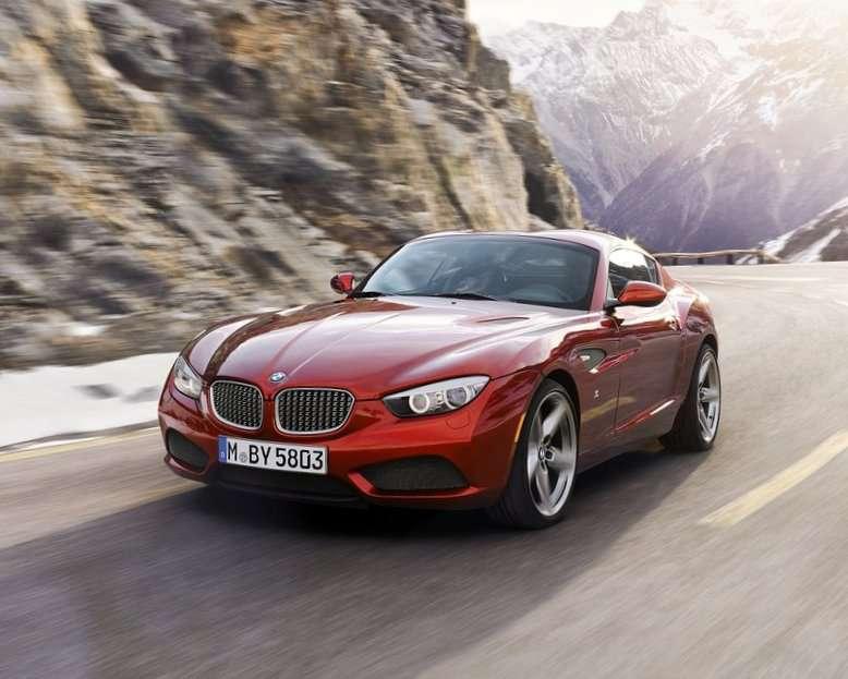 Купе BMW Zagato 2012 фото