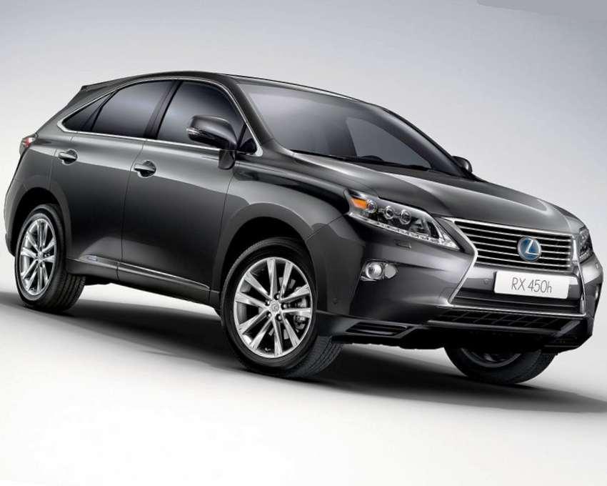 Lexus RX 450h 2013 фото