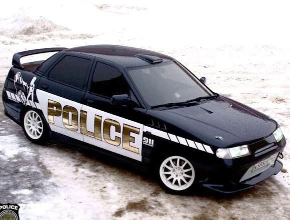 Наклейки на кузов ВАЗ 2110