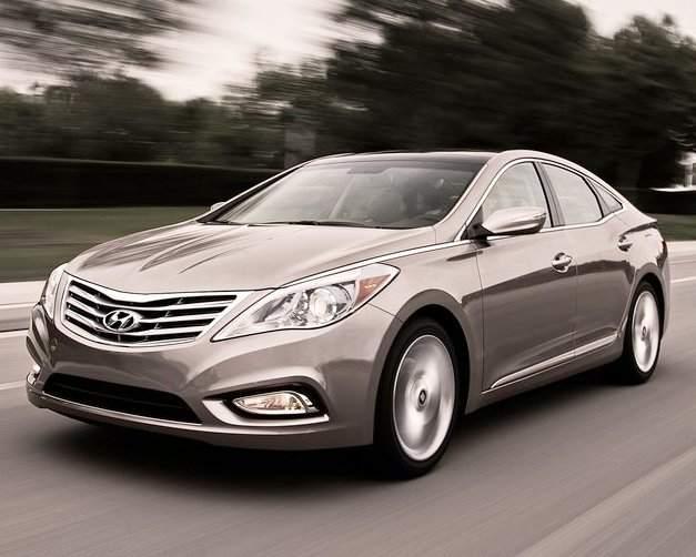 Новый Hyundai Grandeur 2012