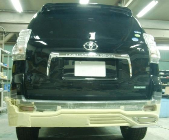 Обвес Toyota Land Cruiser Prado