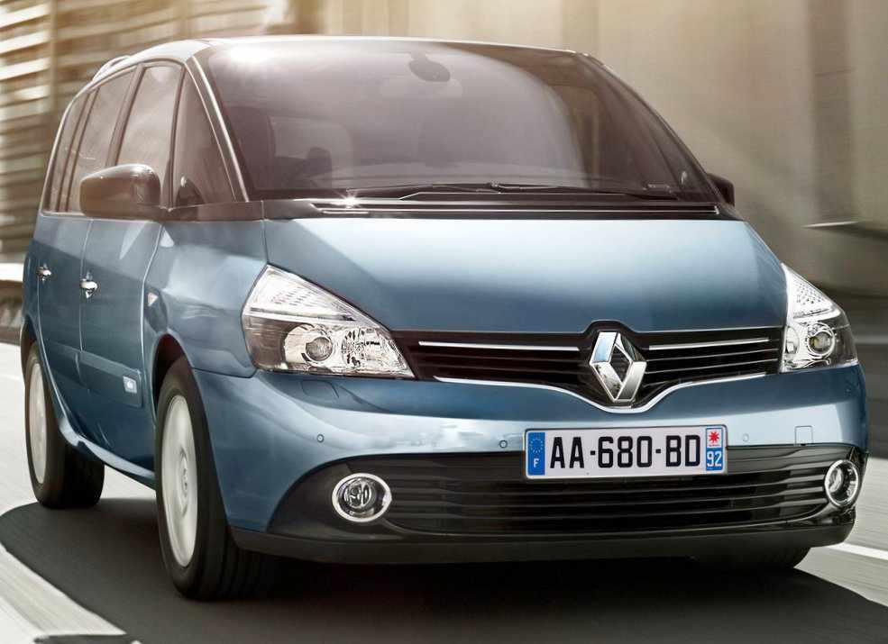 Renault Espace 2013 фото