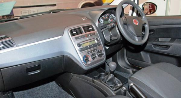 Салон Fiat New Punto Van 2012