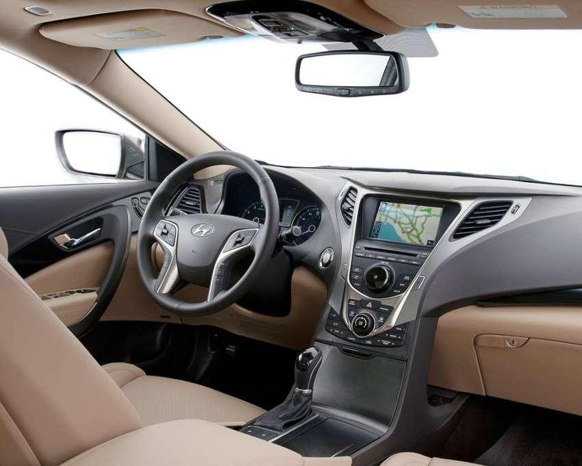Салон Hyundai Grandeur 2012