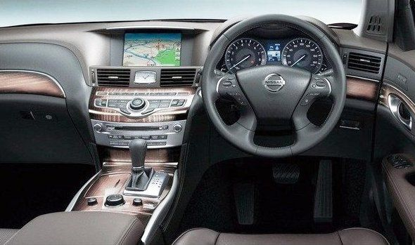 Салон Nissan Cima 2013
