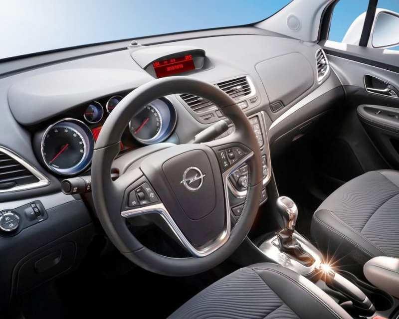 Салон Opel Mokka - фото