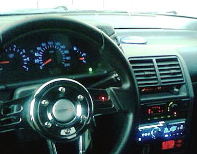 Спортивный кожаный руль ВАЗ 2111