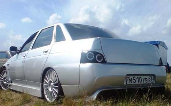 Тюнинг ВАЗ 2110 - новые колеса