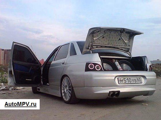 Тюнинг багажника ВАЗ 2110