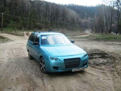 Тюнинг переднего бампера ВАЗ 2111 - фото