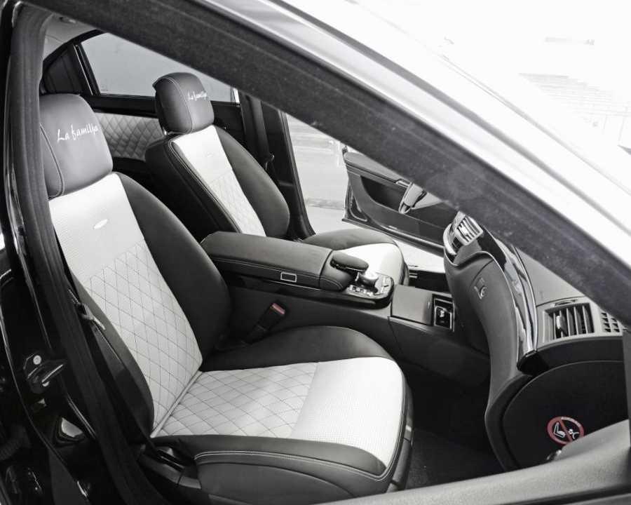 Тюнинг салона Mercedes S65 AMG