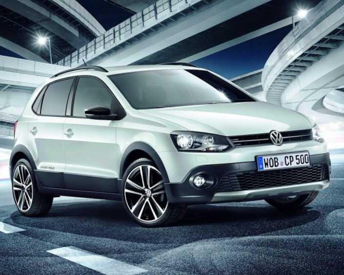 Volkswagen CrossPolo Urban White 2013 фото