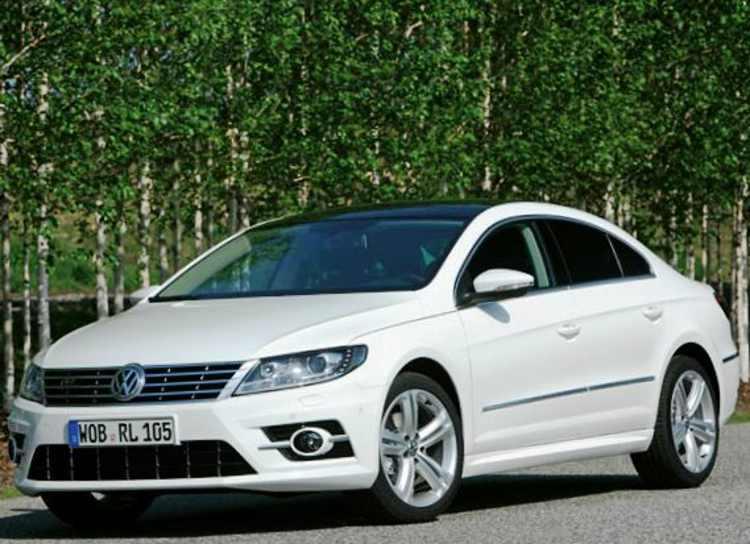 Volkswagen Passat CC R-Line 2012 фото