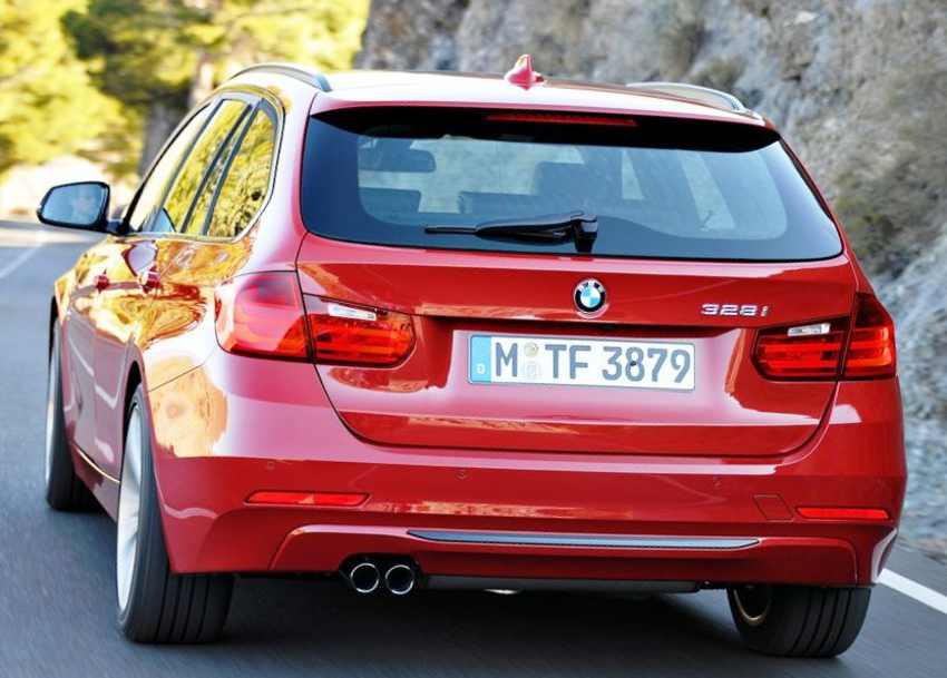 Задние фонари BMW 3-Series Touring 2013