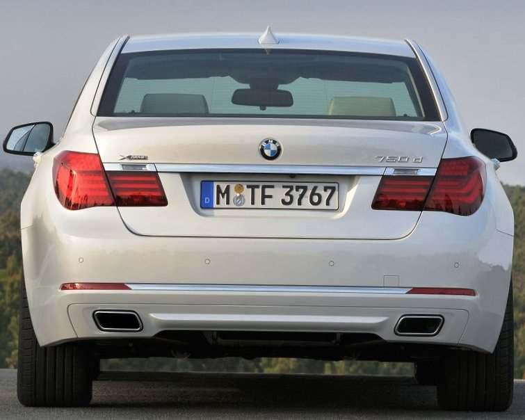 Задние фонари BMW 7-Series 750 d