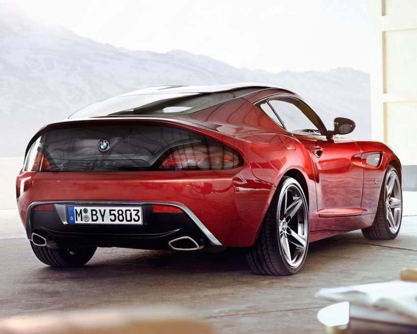 Задние фонари BMW Zagato Coupe 2012