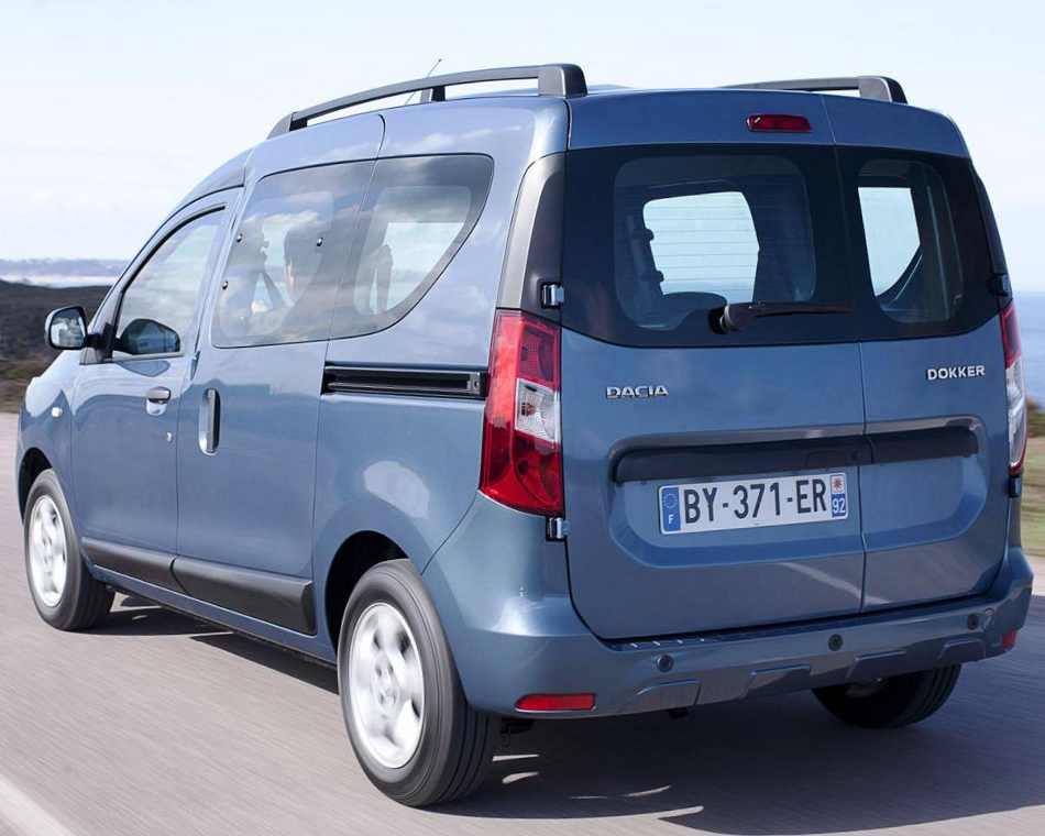 Задние фонари Dacia Dokker 2013