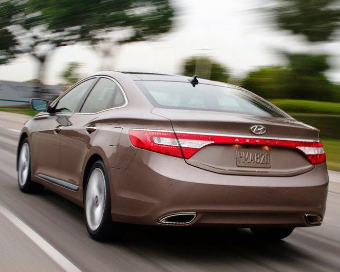 Задние фонари Hyundai Grandeur 2012