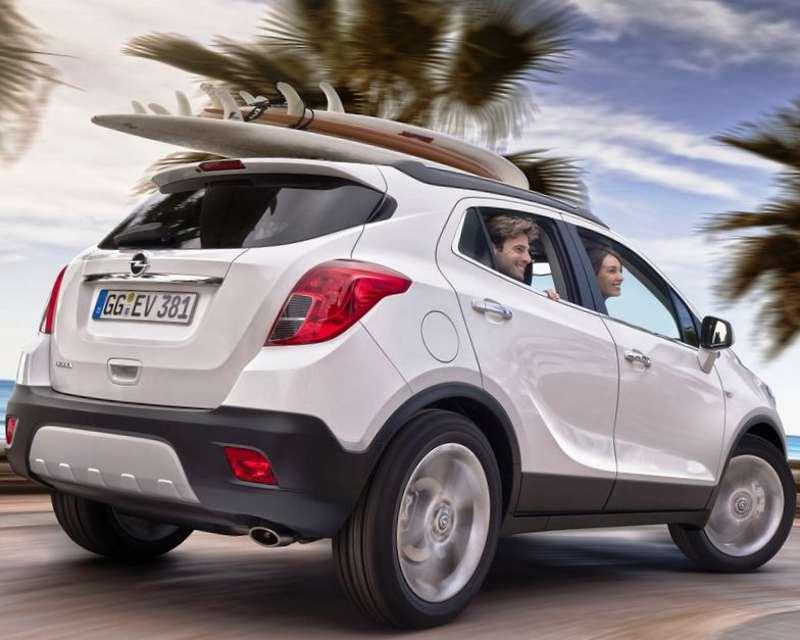 Задние фонари Opel Mokka