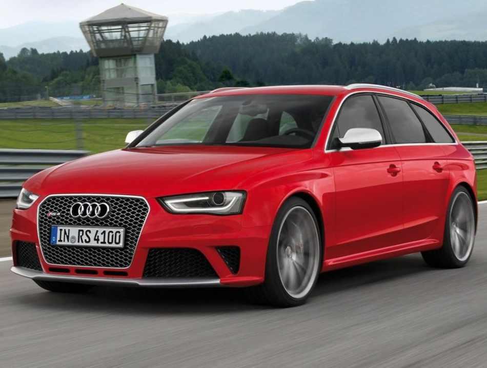 Audi RS4 Avant 2012 фото