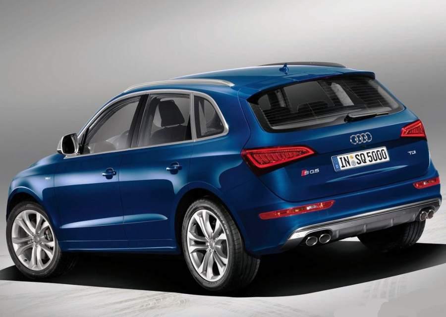 Audi SQ5 TDI задние фонари