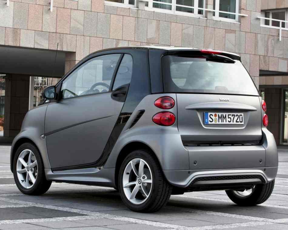 Багажник Smart Fortwo 2012