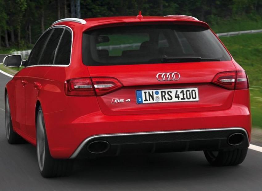 Ещё фото Audi RS4 Avant 2012