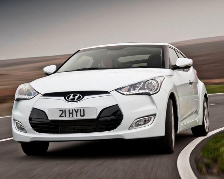 Hyundai Veloster 2012 фото