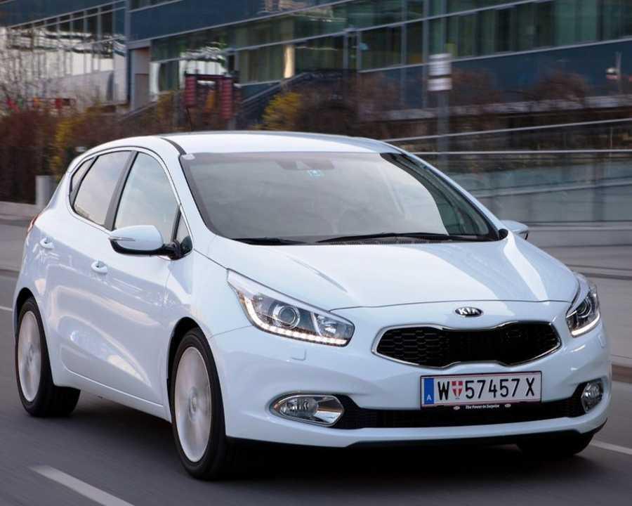 Новый Kia Ceed 2012