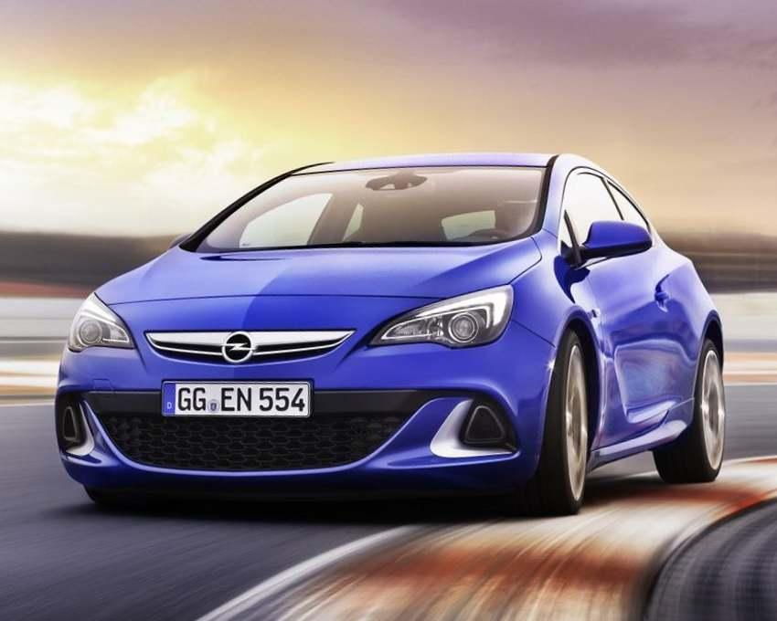 Opel Astra OPC 2012 фото