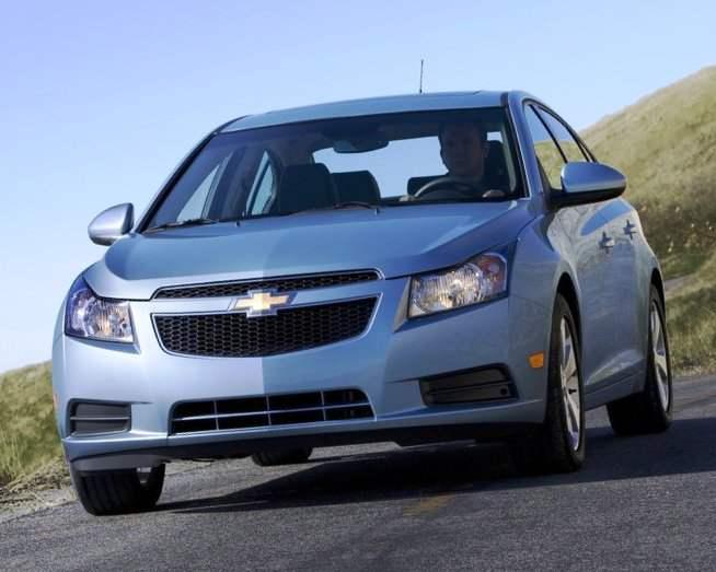 Отзывают Chevrolet Cruze