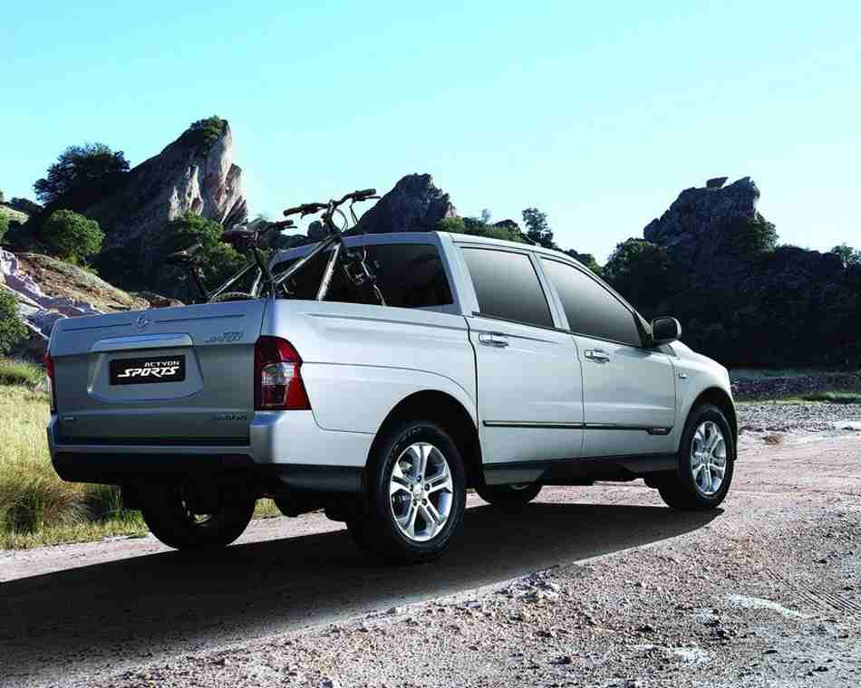 Пикап SsangYong Actyon Sports 2013