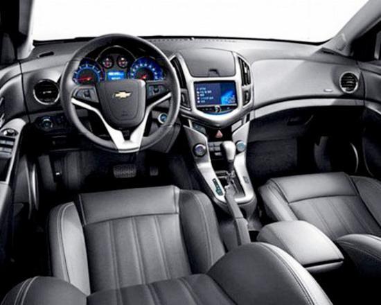 Салон Chevrolet Cruze 2013