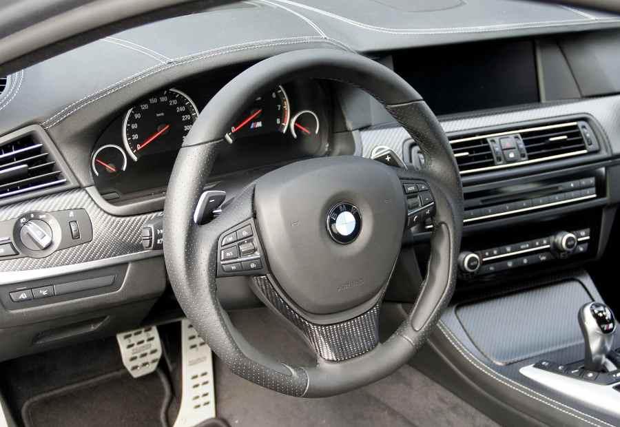 Тюнинг BMW M5 салон