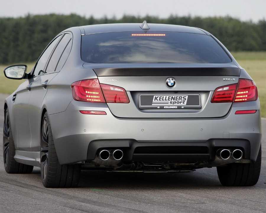 Тюнинг BMW M5 задние фонари