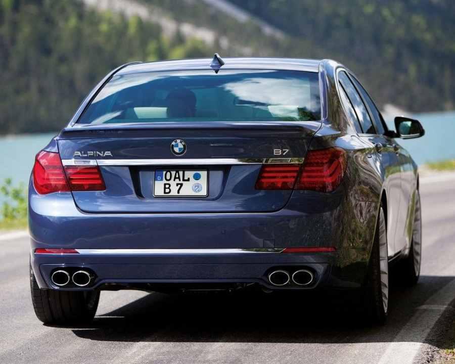 Задние фонари BMW Alpina B7 2013