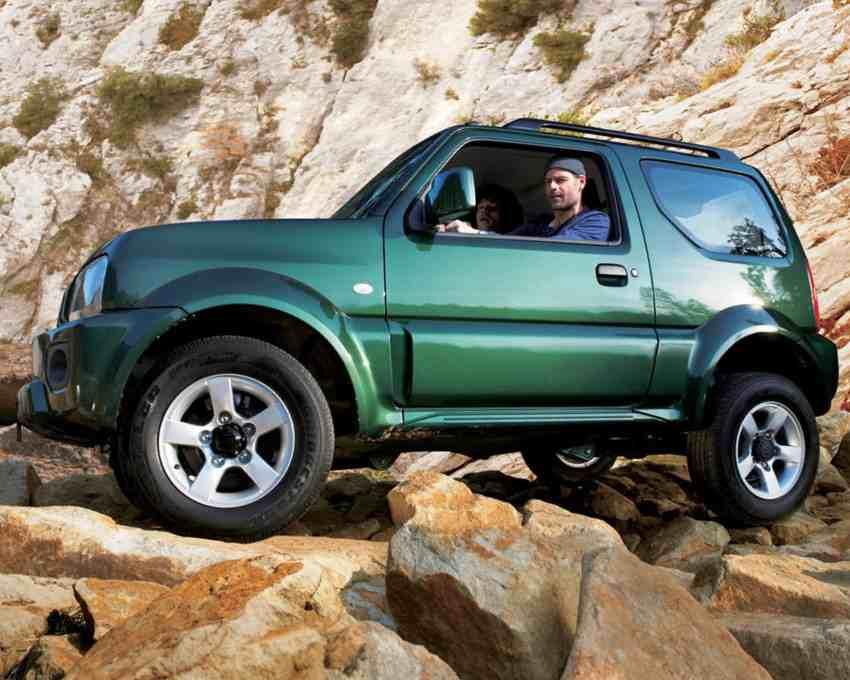 рестайлинг Suzuki Jimny 2013